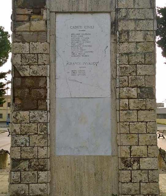 Borgo Faiti: il monumento ai caduti che il Comune ha abbandonato