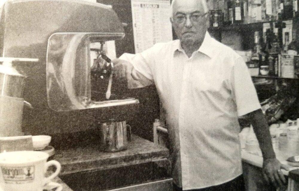 Alfonso Farina, la storia dell'uomo gentile del Bar Farina