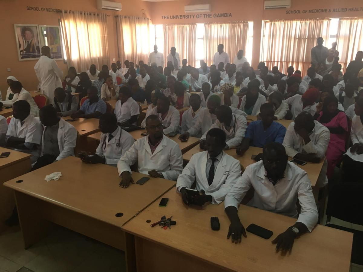 Gambian Doctors On Strike
