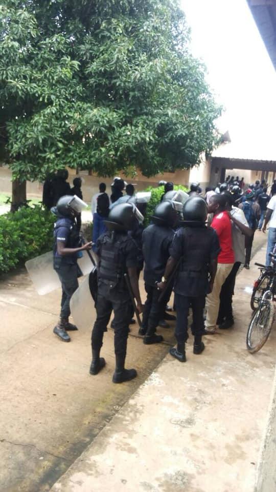 Eye Africa TV Cameraman 'Assaulted' By PIU Officer