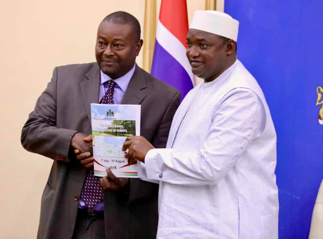 """We Will Take Actions Recommended By The Commission"" President Barrow"