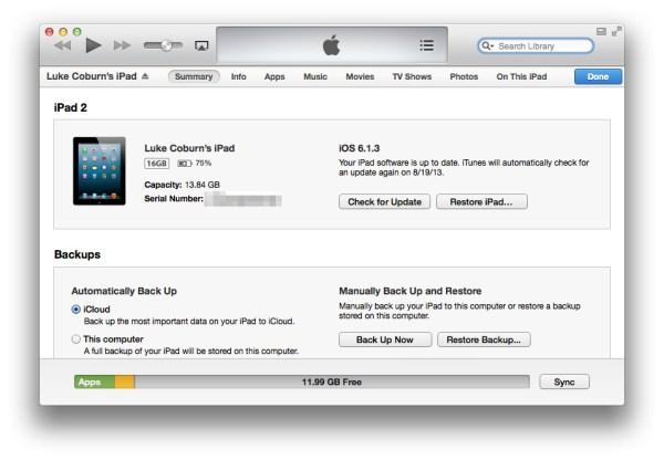 """""""Other"""" iPad Storage finally gone"""