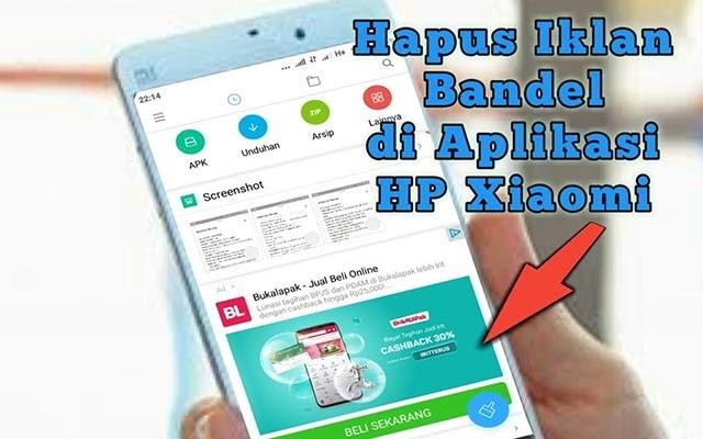 Cara Ngilangin Iklan di HP Xiaomi