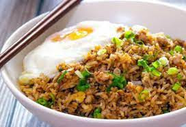 Nasi Daging Kornet Kaleng