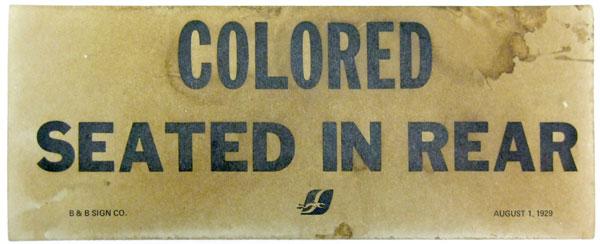 Image result for segregation signs