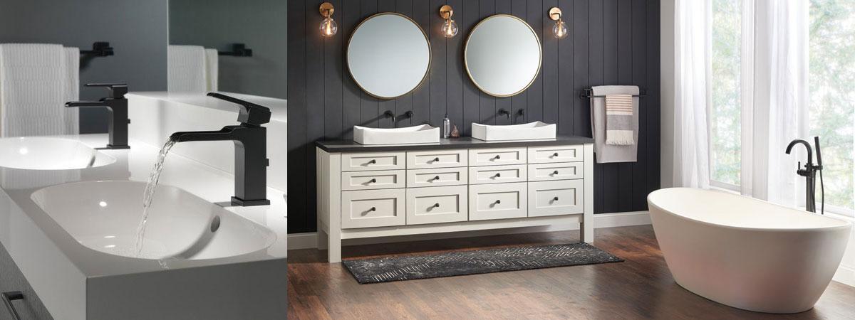 10 Unique Ways To Incorporate Black Into Your Bathroom Design Faucetlist Com