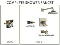 What Is a Shower Valve with Stops? - FaucetList.com