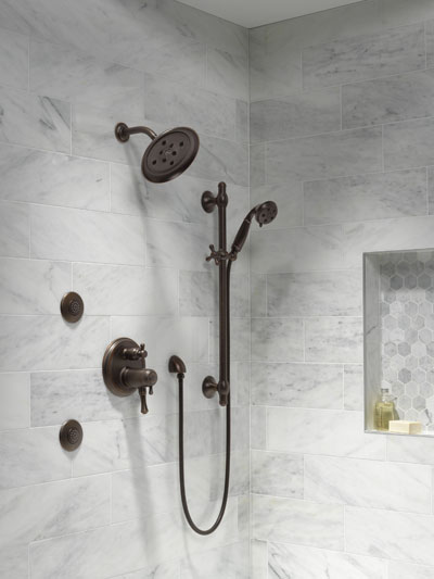 Building a Custom Shower System using a Delta Shower