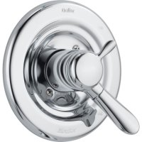 Delta Lahara Temperature and Volume Control Chrome Shower ...