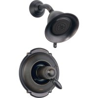 Delta Victorian Venetian Bronze Thermostatic Shower Faucet ...