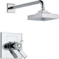 Delta Arzo Dual Control Chrome Modern Thermostatic Shower ...