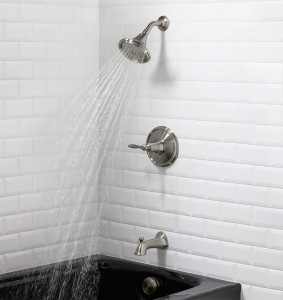 shower faucet repair and replacement on