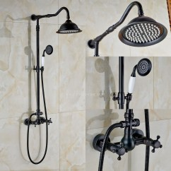 Cheap Kitchen Towels Recycled Countertops Matte Black Oil Rubbed Bronze Shower Fixture 8 Inch ...