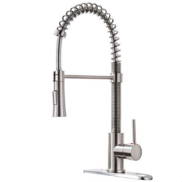 professional kitchen faucet backsplash cost best commercial reviews industrial fusion style grade