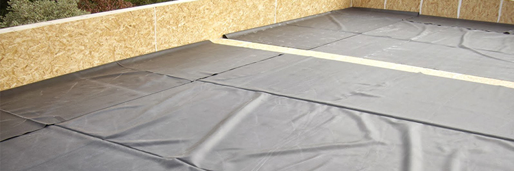 Ordinary Rubber Rolled Roofing