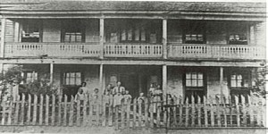 Madison Elliot Moore Hotel circa 1890, Greenbrier, Arkansas