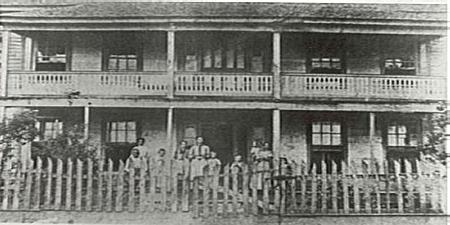 Madison Elliot Moore Hotel, circa 1890 (Courtesy of the FCHS and UCA Archives)