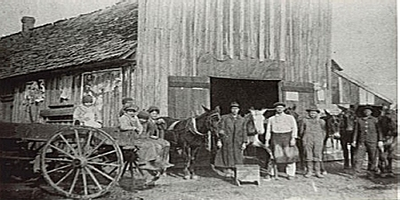 Blacksmith shop, circa 1900 (Courtesy of the FCHS and UCA Archives)