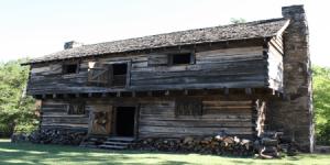 Cadron Blockhouse, Faulkner County, Arkansas