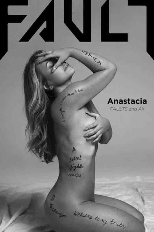Anastacia Magazine cover