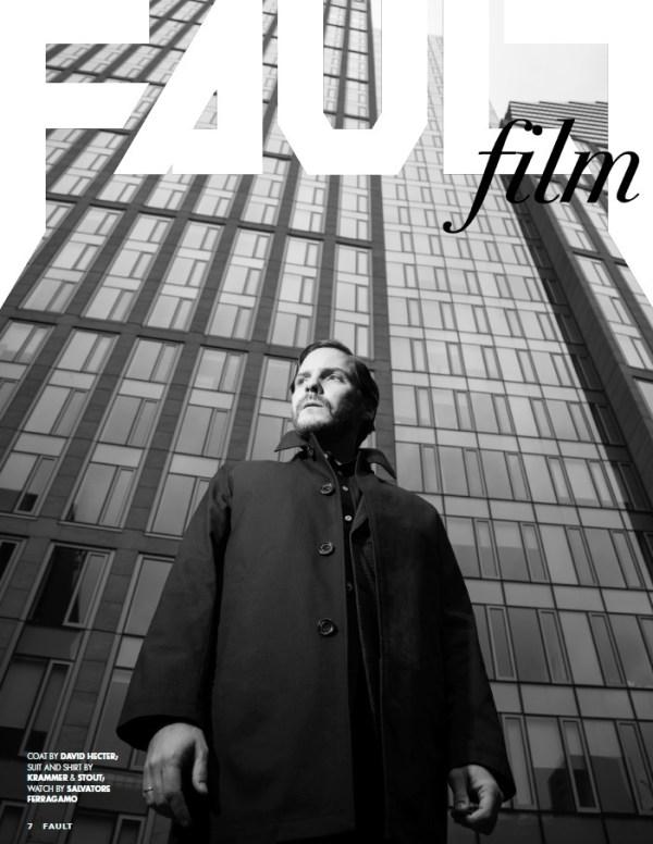 Daniel Bruhl for FAULT Magazine Issue 28