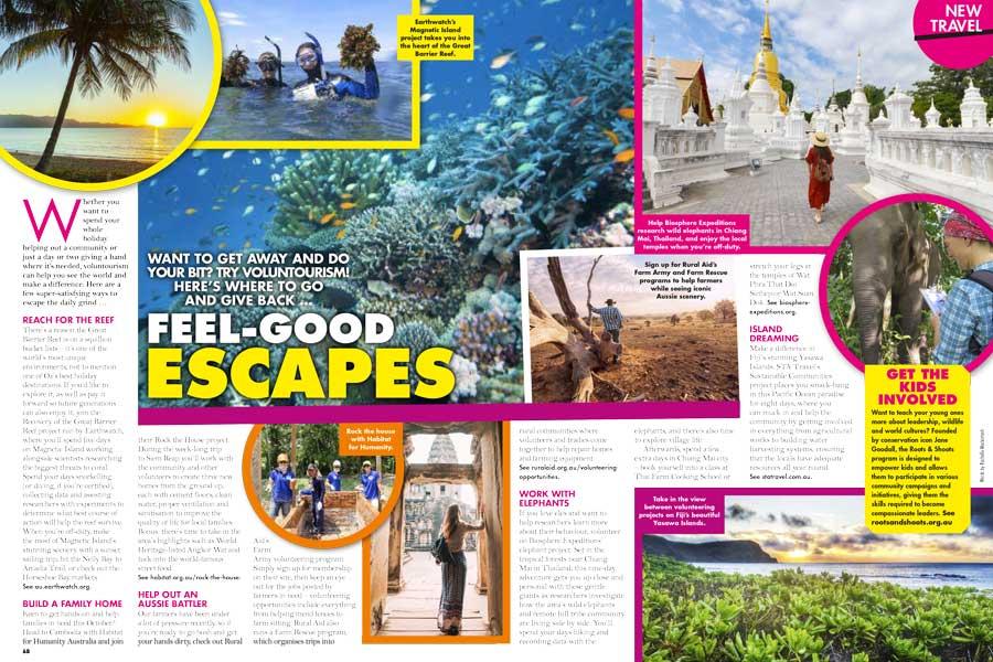 Travel Feel Good Escapes