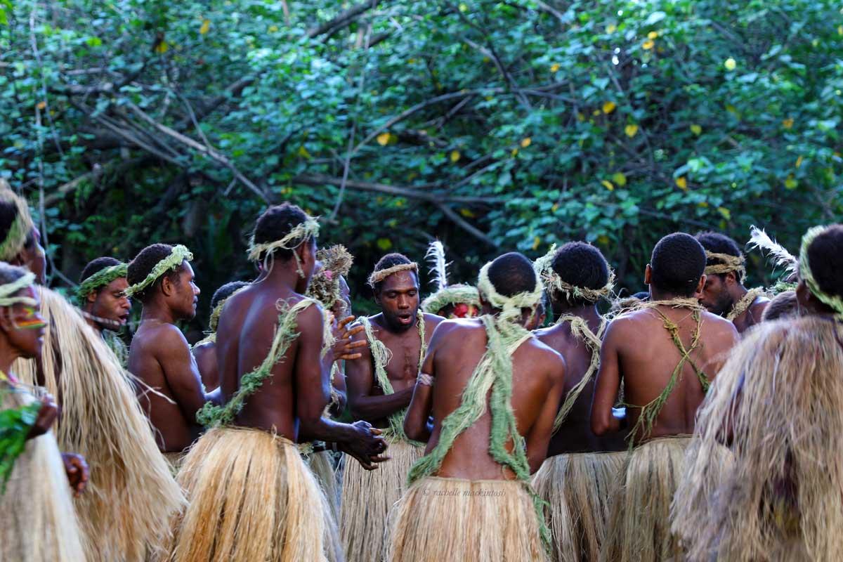 vanuatu tanna island volcano tribal dance