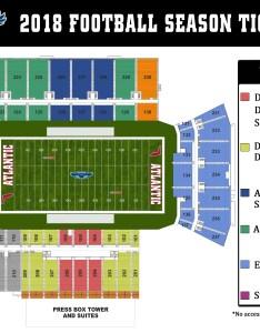 Football seating chart also tickets florida atlantic university athletics rh fausports