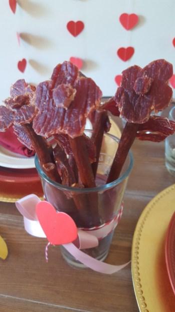 Beef Jerky Bouquet Diy : jerky, bouquet, Jerky, Bouquet, Valentine, Napkin, Relatable