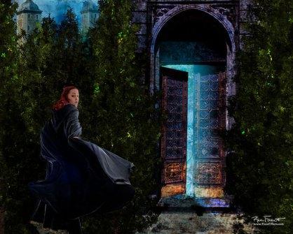 Through the Doorway | Original Digital Artwork