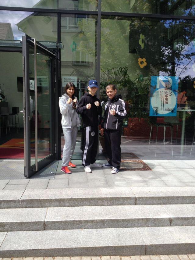 Sahika Bostan, Christian und Janek Goman