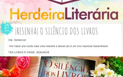 Herdeira Literária – Resenha