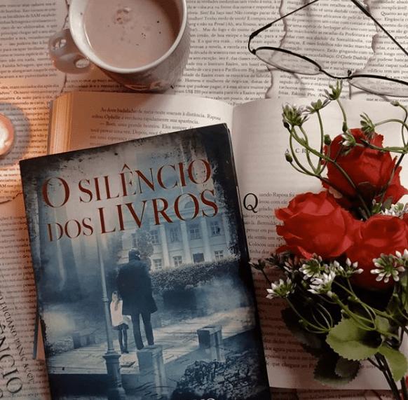 """Resenha do IG @bibliotecadajordana sobre meu livro """"O Silêncio dos Livros"""""""