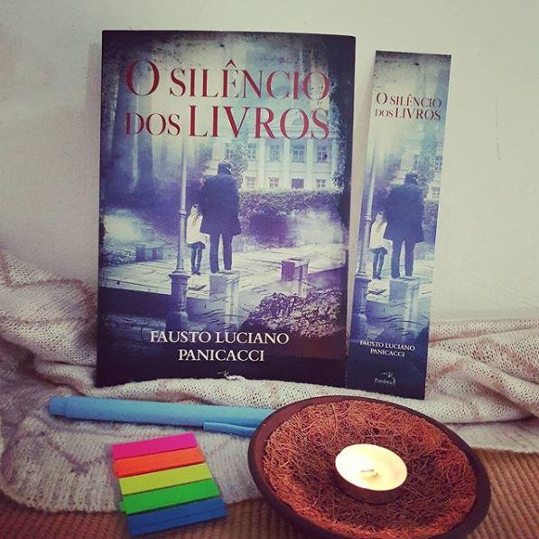 """O IG @prefacioleitor fez uma resenha sobre o meu livro """"O Silêncio dos Livros"""""""