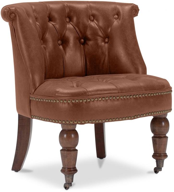 fauteuil crapaud marron fauteuil