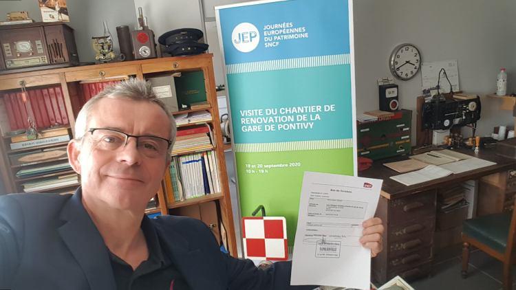 présence de la SNCF gare Pondivy