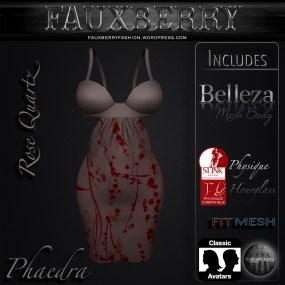 Phaedra - Rose Quartz