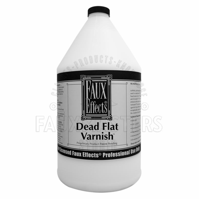 Dead Flat Finish