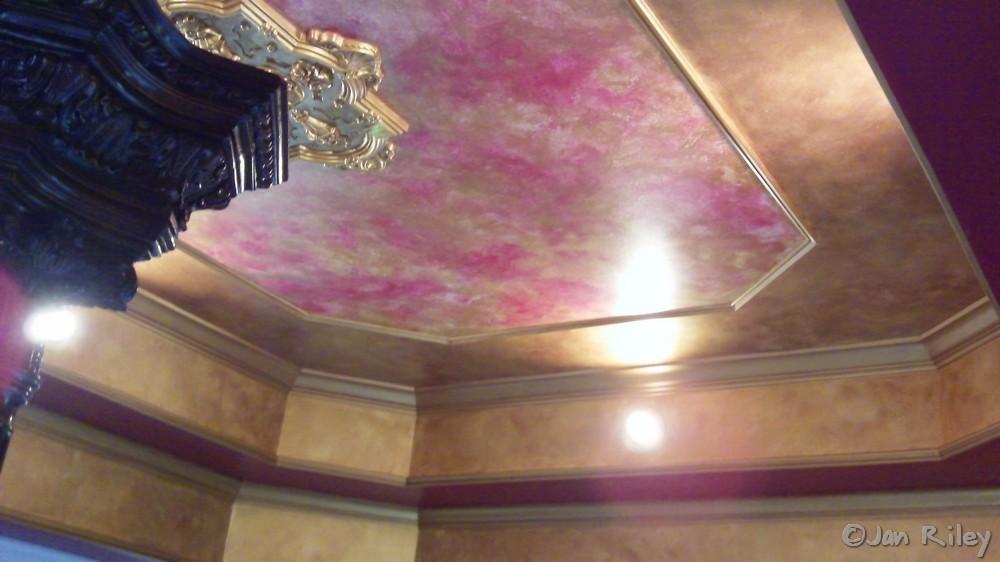 Faux Painted Ceilings