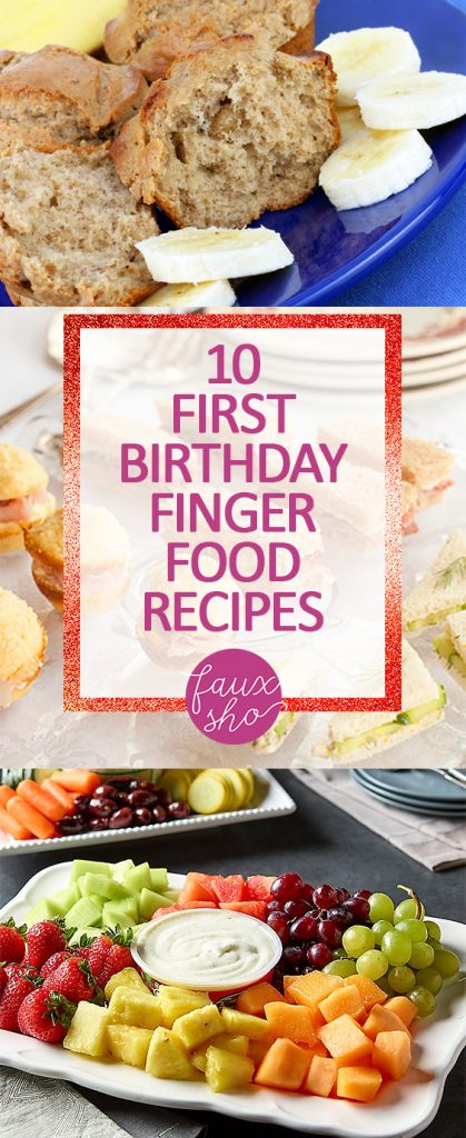10 first birthday finger