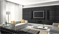 Faux Leather Wall Panel Photo Gallery in Residential and ...