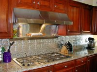 Kitchen Backsplash Ideas, Decorative Tin Tiles, Metal ...
