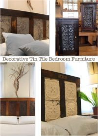 Decorative Tin Tile Bedroom Furniture | Ceiling Tile Ideas ...