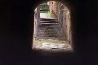One of several forboding tunnels at Palantine Hill