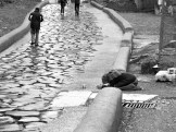 Beggar at Capitoline Hill