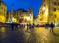 Piazza della Rotonda in front of The Pantheon.