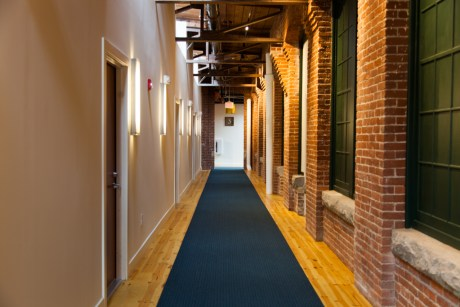 Second Floor Hallway of Building 7