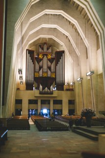 A view from the main altar