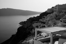 Oia, Santorini, Greece - View towards the north