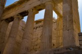 """It was very difficult taking a """"pure"""" picture of the Parthenon without tourinst and construction gear all around it."""